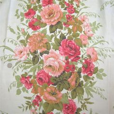 french country fabric in Linens