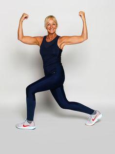 Charlotte Bircow favoritøvelser til mave, balder og lår - ALT. Lunges, Squats, Yoga Flow, Alter, Gym Workouts, Charlotte, Health Fitness, Sporty, Exercise