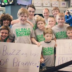 Shoutout to our 2015 top fundraising team, The Buzzin Boys of Braintree. These boys did an incredible job of raising about $28,000 for kids fighting cancer! #buzzforkids #whateverittakes