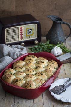 Pastel de carne con pan de queso
