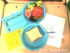 How to Make a Sandwich Writing Lighthouse Keepers Lunch, How To Make Sandwich, First Grade Teachers, Teaching Writing, Fun Activities, Literacy, Sandwiches, Have Fun, Language Arts