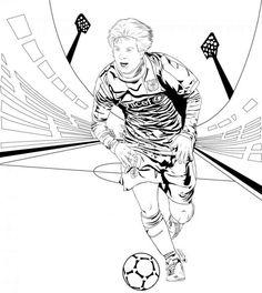 18 En Iyi Fußball Ausmalbilder Görüntüsü Colouring In Preschool