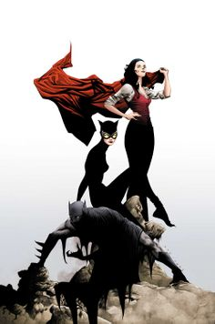 Give me a poster from this!!! - Jois, Batz and The Cat by Jae Lee -