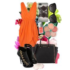 """Orange the new black :)"" by adrianaotti on Polyvore"