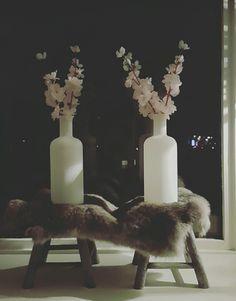 #home #deco #white #konijnenbontje #pink