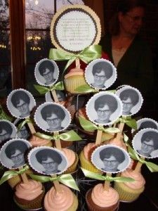 Image detail for -this cupcake tree for her mom's 60th birthday. She used her mom ...love this idea, so cute