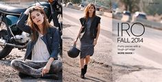yes to all. IRO Fall 2014 Collection Lookbook | SHOPBOP