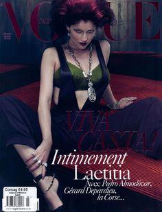 Laetitia Casta | Photography by Mert & Marcus | For Vogue Paris | December 2009
