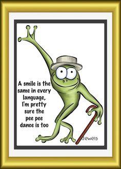 Pee Pee Dance :)