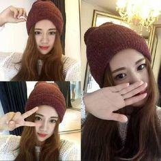a22fc123282 Winter Hat for Men Women Knitted Skullies Hats Fashion Unisex Solid Beanie  Warm Boys Cotton Knit Cap Thick Crochet Bonnet