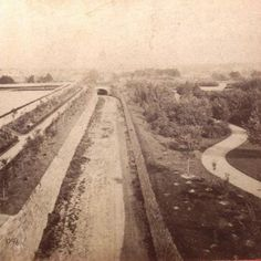 Central Park Transverse at 79th St looking east 1863