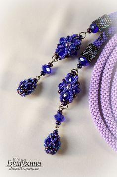Master Class beaded fleur de Lis for necklace