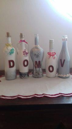 Dekorácia z fliaš