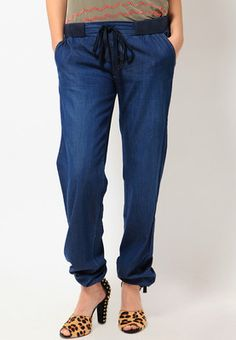 Solid Blue Trackpant Price: Rs 999