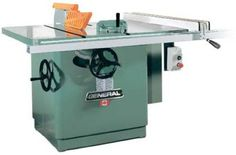 General International Tilting Arbor Saw Right Tilt