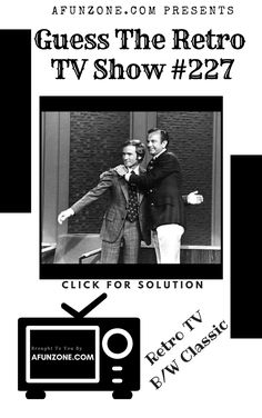 #afunzone #TV #Vintage #Television #Retro #Classic #Black & #White #Puzzle #syndicated #American #Talkshow #1960s #1970s & #1980s Vintage Television, Classic Tv, 1980s, The Past, Tv Shows, Puzzle, Black White, Game, Retro