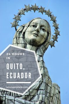 Do you have 24 hours to spend in Quito, Ecuador? There is plenty to see! Here are the best attractions and things to do in Quito, Ecuador on a long layover or short visit. #southamerica #traveltuesday  #travelblogger #ecuador #quito
