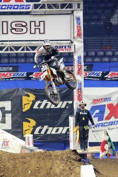 Dylan Rouse AMS Oil Arenacross