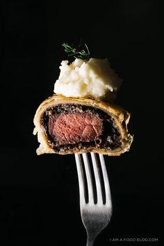 mini beef wellington recipe - www.iamafoodblog.com