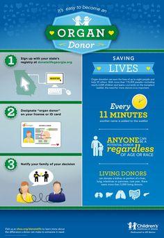 Childrens Healthcare of Atlanta Celebrates National Donate Life Month Kidney Donor, Pulmonary Fibrosis, Organ Transplant, Organ Donation, Life Happens, Prayer Quotes, Save Life, Health Facts, Pediatrics