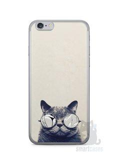 Capa Iphone 6/S Gato Com Óculos