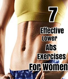 7 Effective Lower Abs Exercises For Women