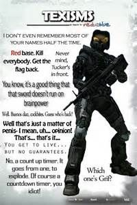 red vs blue Tex quotes