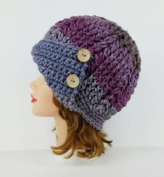 Cloche Hat Pattern Crochet Hat Patterns For Women Crochet #HatsForWomenHandmade