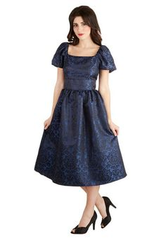 Brocade Promenade Dress, #ModCloth