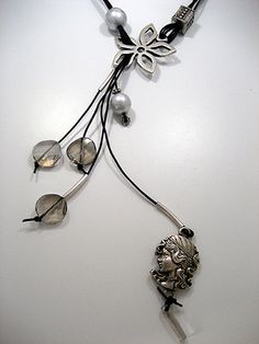 Zandstorm: Lange halsketting (Juwelen,halsketting)