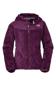 The North Face 'Oso' Plush Fleece Hooded Jacket (Big Girls) | Nordstrom