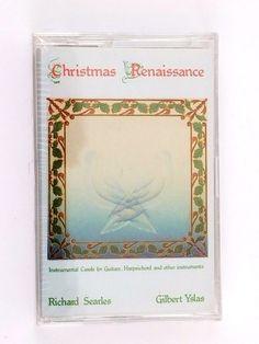 Christmas Renaissance Music Cassette Tape Richard Searles Gilbert Yslas 1987 #Christmas Renaissance Music, Cassette Tape, Frame, Christmas, Picture Frame, Xmas, Navidad, Noel, Frames