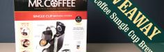 GIVEAWAY: Enter for a chance to Win Mr. Coffee K-Cup Coffee Maker