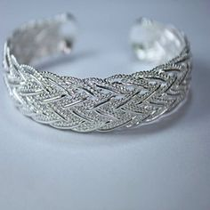 Strength .. Italiain Weave Rope Bracelet.. by Evabella Collections on Opensky