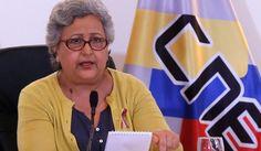 Tibisay Lucena ofreció balance del proceso electoral