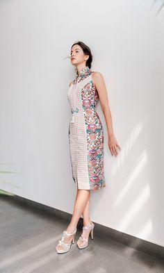 Batik Fashion, Ethnic Fashion, Batik Dress, Model Dress Batik, Latest Fashion Clothes, Fashion Dresses, Myanmar Dress Design, Fancy Blouse Designs, Dress Indian Style