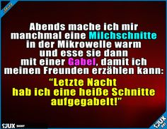 Jede Woche eine neue heiße Schnitte :P  Lustige Sprüche #Humor #lustig #Sprüche #1jux #Jodel #lustigeSprüche #lustigeBilder #lachen