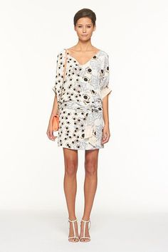 my favorite dresses are DVF.  love this one!