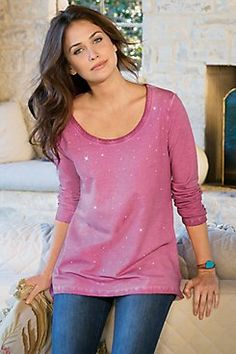Sparkle Tee I from Soft Surroundings