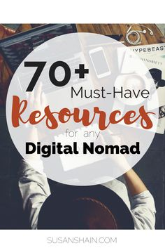 Digital Nomad Resources: My Fave Sites, Apps, and Books