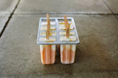 my darling lemon thyme: Mango, coconut + pineapple popsicle recipe
