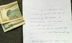 A woman in Portland, Oregon checked her security footage and saw that someone had climbed into her Subaru, idled the engine, and drove off!  She immediately reported the theft to police  THE NEXT DAY the car was back – with an apology note and a some gas money  http://www.goodnewsnetwork.org/woman-surprised-find-stolen-car-returned-gas-money-endearing-note/  #threethings #TheMorningShow #887thebridge #netDE