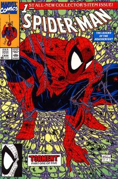 Spider-Man # 1 :: Portada por Todd McFarlane [Tormento parte 1]