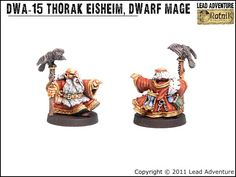 Thorak Eisheim, the Dwarf Mage - Lead Adventure Lead Adventure, Dwarf, Miniatures, Fantasy, Movie Posters, Painting, Inspiration, Biblical Inspiration, Film Poster