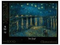 Clementoni: Van Gogh - Starry Night on the Rhone Puzzle Art, Van Gogh, Puzzles, Night, Artwork, Puzzle, Work Of Art