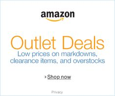Great Amazon Deals Hunting for a great deal on clearance products and overstocks usually means going to a mall and hitting a lot of stores. At Amazon, we've gathered all our markdowns, closeouts, and overstock deals in one place, so you can find just what you want with just a little online shopping.
