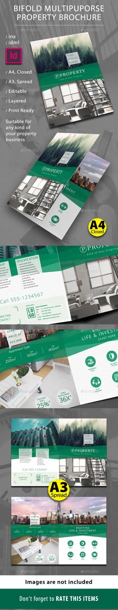 Annual Report Annual Reports Brochures And Arrow - Property brochure template