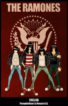 Hey Ho Let's Go by pumpkinbear on DeviantArt Rock Posters, Band Posters, Concert Posters, Retro Posters, Music Posters, Ramones, Pink Floyd, Joey Ramone, Iron Maiden