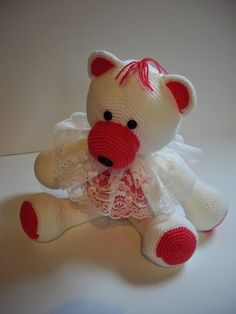 beer haken/crochet bear De Creahut: De Creahut Beer op YouTube
