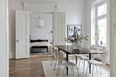 Home tour | A glamorous Gothenburg apartment | These Four Walls blog